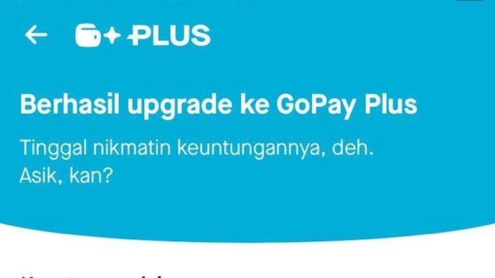 Cara Upgrade GoPay Plus dengan Mudah, Siapkan Kartu Identitas hingga Cek Status Upgrade Akun