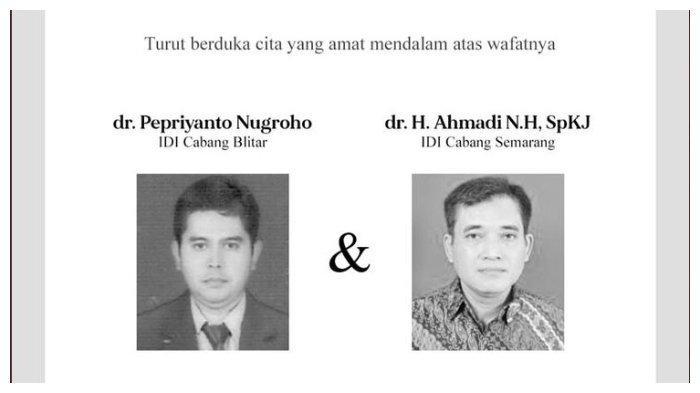 Positif Covid-19, Dokter asal Semarang dan Blitar Meninggal Dunia