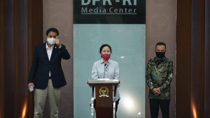 Puan Maharani Serahkan Bantuan Sembako dan Imbau Warga Tunda Mudik
