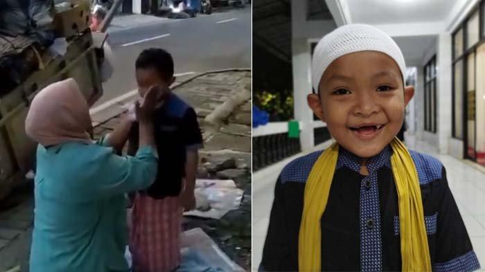 Viral Seorang Pemulung Dandani Putranya dengan Baju Rapi Sebelum Berangkat ke Masjid