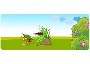 cerita semut dan belalang