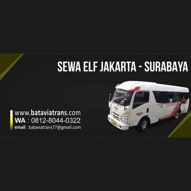 Sewa Elf Jakarta Surabaya